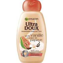 Shampooing 2en1 au lait de vanille et papaye