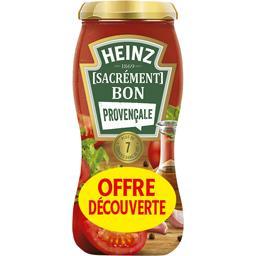 Heinz Sauce pour pâte Sacrément Bon Provençale le bocal de 490 g