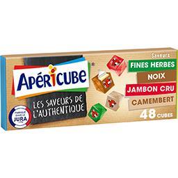 Apéricube Petits cubes fromagers Les Saveurs de l'Authentique