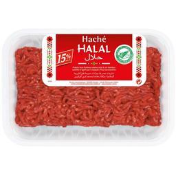 Haché de bœuf 15% MG Halal