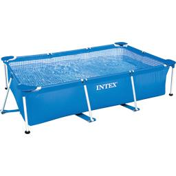 Piscine métal Frame rectangle Tubulaire 2m20x1m50x60cm