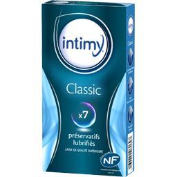 Préservatifs lubrifiés Intimy