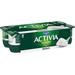 Activia - Lait fermenté au bifidus, nature