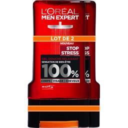 L'Oréal Men Expert de L'Oréal Gel douche relaxant sensation de bien-être 100% Stop...