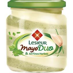 Lesieur Mayo Duo & fines herbes le pot de 170 g