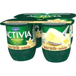 Activia - Lait fermenté saveur vanille
