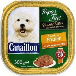 Double délice, bouchées pour chiens, poulet et foie
