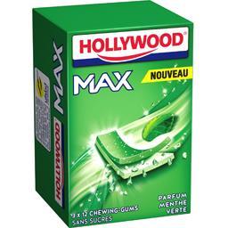 Max - Chewing-gums sans sucres parfum menthe verte