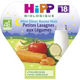 Mon Dîner Bonne Nuit - Petites lasagnes aux légumes ...