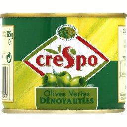 Olives vertes dénoyautées