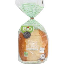 Bio La Fournée Campanière Gâche en tranche pur beurre BIO le paquet de 350 g