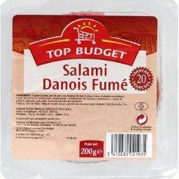 Salami danois fumé