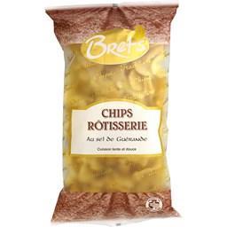 Chips rôtisserie au sel de Guérande