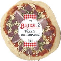 Pizza au canard
