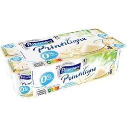 Printiligne - Yaourt saveur vanille 0% MG