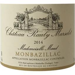 Monbazillac Mademoiselle Maud, vin blanc