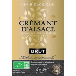 Crémant d'Alsace brut BIO