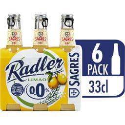 Bière Radler au citron 0°
