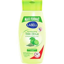 Shampooing très doux argile & citron vert, cheveux g...