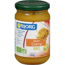 Sauce curry BIO