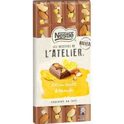 Les Recettes de l'Atelier - Chocolat citron confit &...