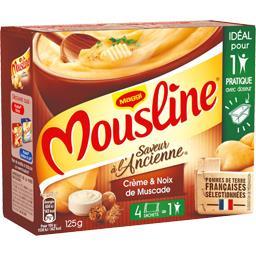 Saveur à l'Ancienne - Purée crème & noix de muscade