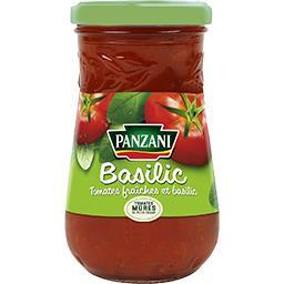 Sauce tomates basilic tomates 100% fraîches