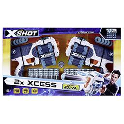 X-Shot 2x Xcess 112 pièces