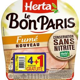 Herta Le Bon Paris - Jambon fumé sans nitrite
