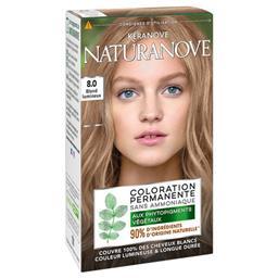 Naturanove - Coloration permanente 8,0 blond lumineu...