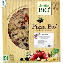 Pizza BIO' 4 saisons