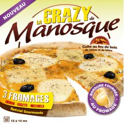 Pizza La Crazy 3 fromages