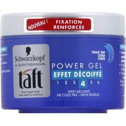 Taft - Power gel effet décoiffé, tenue 24h ultra forte 4