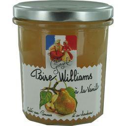 Poire Williams à la vanille cuite au chaudron