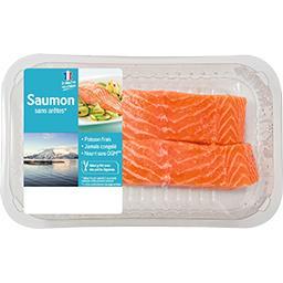 Pavés de saumon sans arête