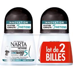 Homme - Déodorant Protection 5 peau + vêtements, fra...