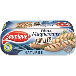 Saupiquet Filets de maquereaux grillés natures