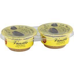 Les Desserts de Jo La Teurgoule à la vanille les 2 pots de 100 g