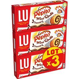 LU LU Pépito - Mini Roulés chocolat