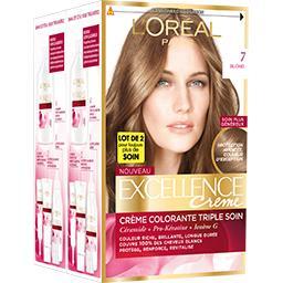 Excellence Crème - Crème colorante permanente Blond 7
