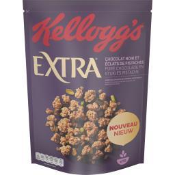 Kellogg's Extra - Céréales pépites chocolat noir et pistaches