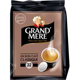 Dosettes de café moulu Classique
