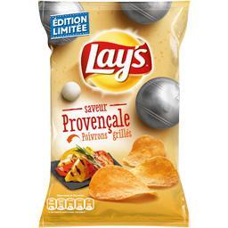 Chips saveur provençale poivrons grillés