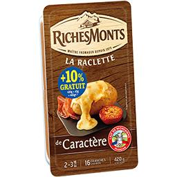 Raclette tr de caractere 420g richesmonts