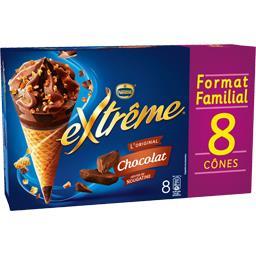 L'Original - Cône chocolat pépites de nougatine