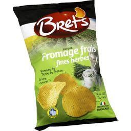 Chips saveur fromage frais fines herbes