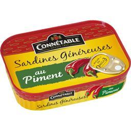 Sardines généreuses au piment