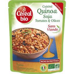 Quinoa soja tomates & olives BIO