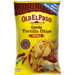 Crunchy Tortilla Chips Chili