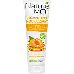 Shampooing nourrissant à l'abricot BIO & huile d'arg...